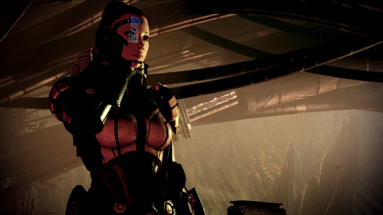The female version of Commander Shepard, protagonist of the Mass Effect series.