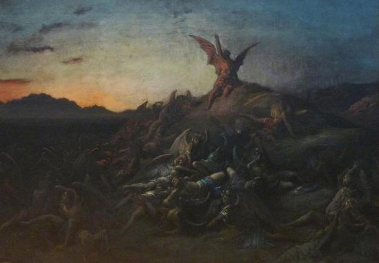 Gustave Dore - The Fall of the Rebel Angels (1866)