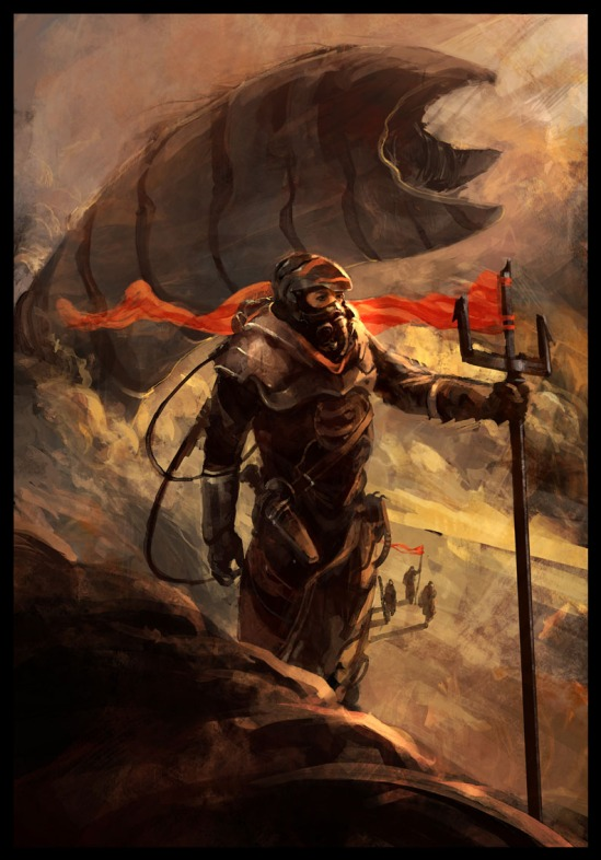 Dune artwork by an unknown artist.