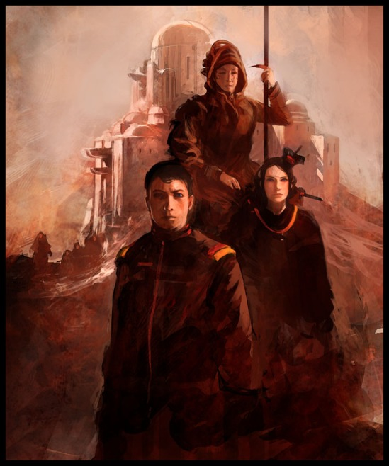 Children of Dune artwork by an unknown artist.