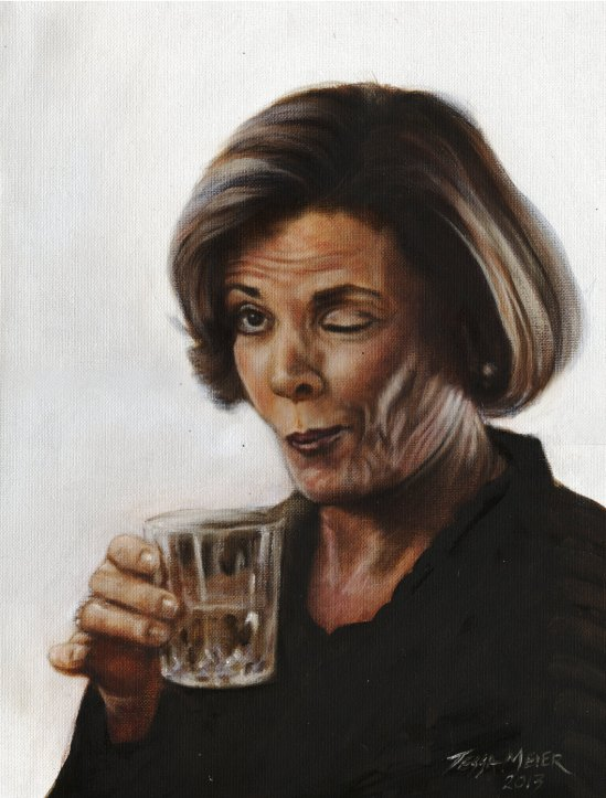 Lucille Bluth by Tessa Meier