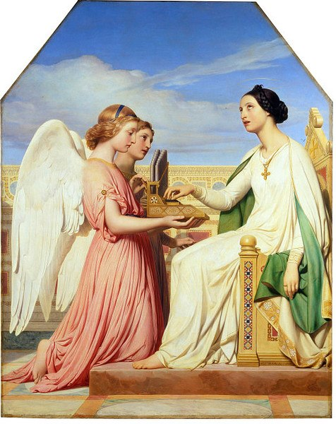 St Cecilia and the Angels, 1836