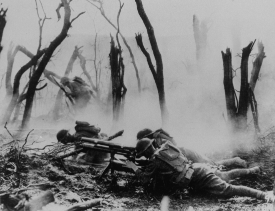 US Infantry In The Argonne Forest