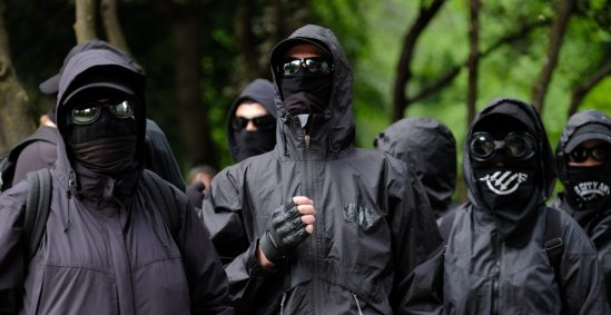 OR: Far-Right Demonstration Met By Antifa Protesters